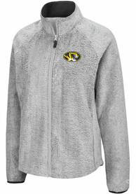 Missouri Tigers Womens Colosseum Astronomy Light Weight Jacket - Grey