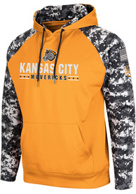 Kansas City Mavericks Colosseum Fitty Hood - Light Blue