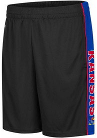 Kansas Jayhawks Colosseum Kobe Shorts - Black