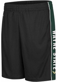 Wayne State Warriors Colosseum Kobe Shorts - Black