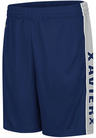 Xavier Musketeers Colosseum Kobe Shorts - Navy Blue