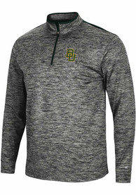 Baylor Bears Colosseum Brooks 1/4 Zip Pullover - Charcoal