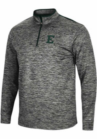 Eastern Michigan Eagles Colosseum Brooks 1/4 Zip Pullover - Charcoal