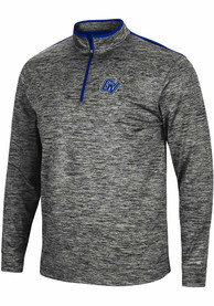 Grand Valley State Lakers Colosseum Brooks 1/4 Zip Pullover - Charcoal