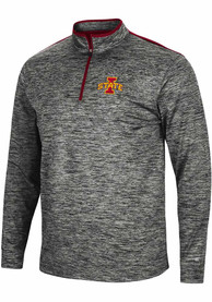 Iowa State Cyclones Colosseum Brooks 1/4 Zip Pullover - Charcoal