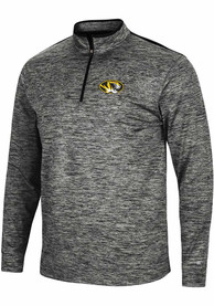 Missouri Tigers Colosseum Brooks 1/4 Zip Pullover - Charcoal