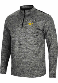 Northern Kentucky Norse Colosseum Brooks 1/4 Zip Pullover - Charcoal