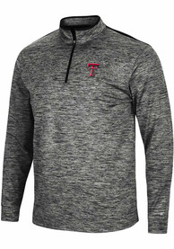 Texas Tech Red Raiders Colosseum Brooks 1/4 Zip Pullover - Charcoal