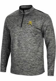 Wichita State Shockers Colosseum Brooks 1/4 Zip Pullover - Charcoal
