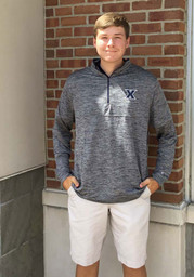 Xavier Musketeers Colosseum Brooks 1/4 Zip Pullover - Charcoal