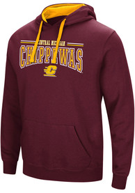 Colosseum Central Michigan Chippewas Maroon Graham Hoodie