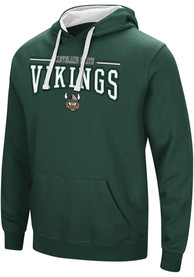 Cleveland State Vikings Colosseum Graham Hooded Sweatshirt - Green