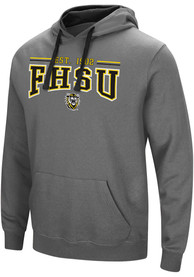 Fort Hays State Tigers Colosseum Graham Hooded Sweatshirt - Charcoal