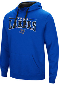 Colosseum Grand Valley State Lakers Blue Graham Hoodie
