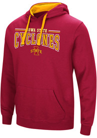 Colosseum Iowa State Cyclones Crimson Graham Hoodie