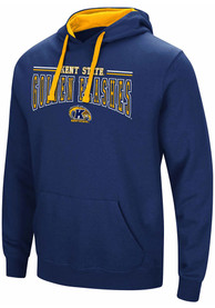 Colosseum Kent State Golden Flashes Navy Blue Graham Hoodie