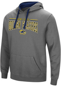 Kent State Golden Flashes Colosseum Graham Hooded Sweatshirt - Charcoal