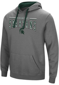 Michigan State Spartans Colosseum Graham Hooded Sweatshirt - Charcoal