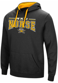 Colosseum Northern Kentucky Norse Black Graham Hoodie