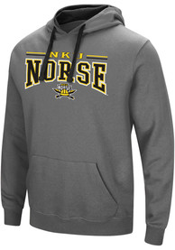 Northern Kentucky Norse Colosseum Graham Hooded Sweatshirt - Charcoal