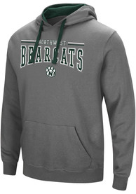 Northwest Missouri State Bearcats Colosseum Graham Hooded Sweatshirt - Charcoal