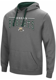 Ohio Bobcats Colosseum Graham Hooded Sweatshirt - Charcoal