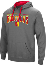 Pitt State Gorillas Colosseum Graham Hooded Sweatshirt - Charcoal