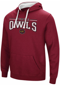 Colosseum Temple Owls Red Graham Hoodie