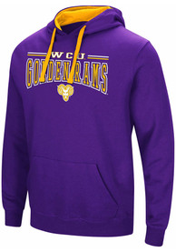 Colosseum West Chester Golden Rams Purple Graham Hoodie