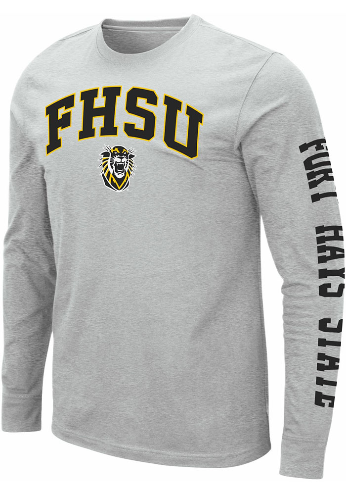 Fort Hays State Tigers Colosseum Jackson T Shirt - Grey