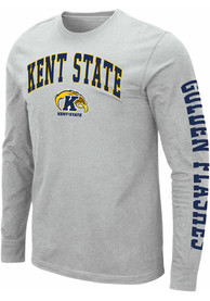 Colosseum Kent State Golden Flashes Grey Jackson Tee