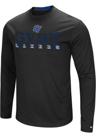 Colosseum Grand Valley State Lakers Black Landry Tee