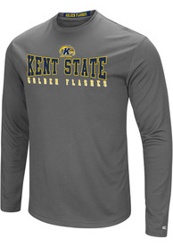 Kent State Golden Flashes Colosseum Landry T-Shirt - Charcoal