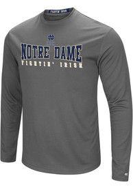 Notre Dame Fighting Irish Colosseum Landry T-Shirt - Charcoal
