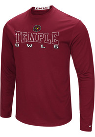 Colosseum Temple Owls Red Landry Tee