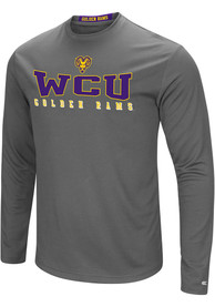 West Chester Golden Rams Colosseum Landry T-Shirt - Charcoal