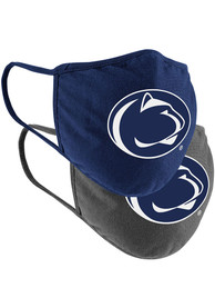 Penn State Nittany Lions Colosseum TC and Grey 2pk Fan Mask - Navy Blue