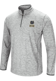 Notre Dame Fighting Irish Colosseum Sprint 1/4 Zip Pullover - Grey
