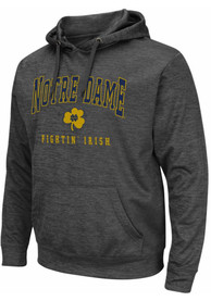 Notre Dame Fighting Irish Colosseum Pace Hood - Charcoal