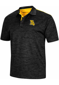 Missouri Western Griffons Colosseum Burrow Polo Shirt - Charcoal