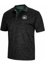 Ohio Bobcats Colosseum Burrow Polo Shirt - Charcoal