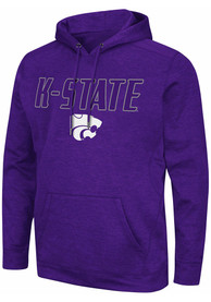 K-State Wildcats Colosseum Showtime Hood - Purple