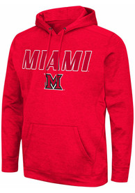 Miami RedHawks Colosseum Showtime Hood - Red