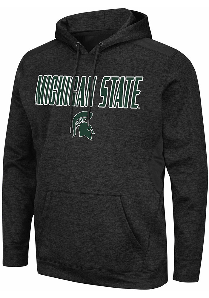 Colosseum Michigan State Spartans Mens Black Showtime Hood - Image 1