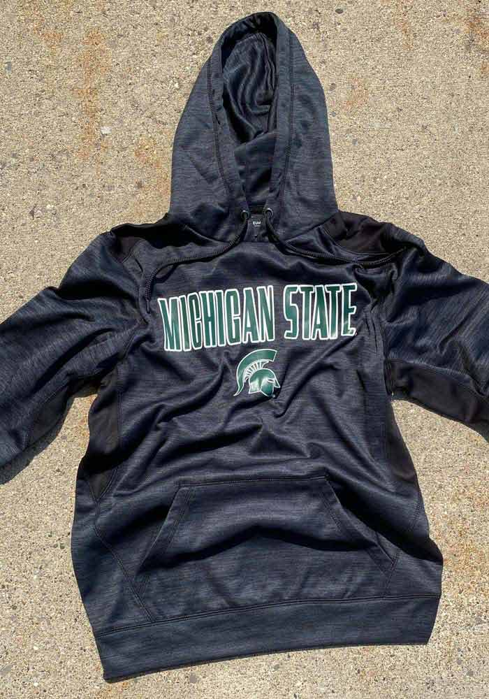 Colosseum Michigan State Spartans Mens Black Showtime Hood - Image 2