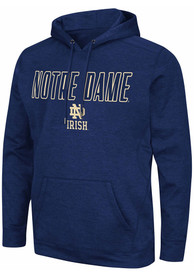Notre Dame Fighting Irish Colosseum Showtime Hood - Navy Blue