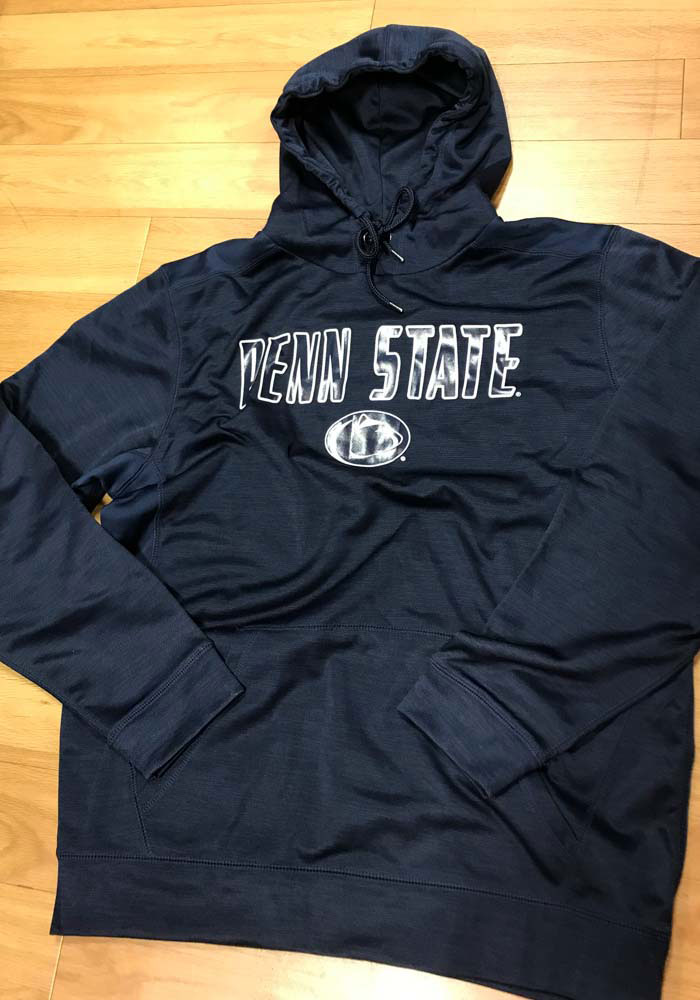 Colosseum Penn State Nittany Lions Mens Navy Blue Showtime Hood - Image 2