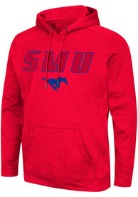 SMU Mustangs Colosseum Showtime Hood - Red