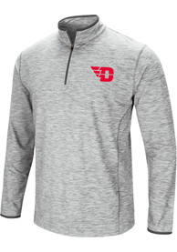 Dayton Flyers Colosseum Sprint 1/4 Zip Pullover - Grey