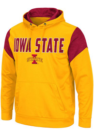 Iowa State Cyclones Colosseum Wonder Marled Hood - Gold